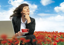 Relaxing business 17 Royalty Free Stock Photo