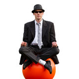 Relaxing businessman Stock Image