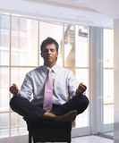 Relaxing businessman Royalty Free Stock Photo