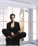 Relaxing businesswoman Stock Photography