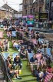 Relaxing at Camden Market. Royalty Free Stock Photos