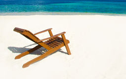 Relaxing on Chair - beautiful island royalty free stock photos