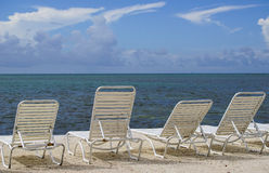Relaxing chairs Stock Photo