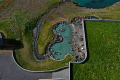 Spas and swimming pools are everywhere in Iceland.