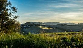 Relaxing countryside landscape Royalty Free Stock Photography