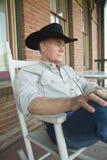 Relaxing Cowboy 4 Stock Photos