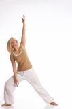 Relaxing exercises Stock Images