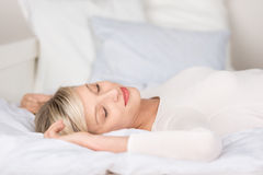 Relaxing female Royalty Free Stock Photo