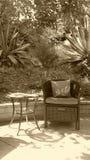 Relaxing Garden Stock Photography
