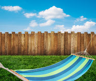 Relaxing on hammock Royalty Free Stock Photo