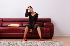 Relaxing at home Royalty Free Stock Photos