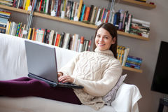 Relaxing at home Royalty Free Stock Photography