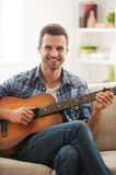 Relaxing at home. Royalty Free Stock Photos