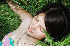 Relaxing In Nature Royalty Free Stock Image
