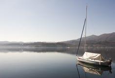 Relaxing lake panorama Stock Image