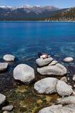 Relaxing in Lake Tahoe Royalty Free Stock Image