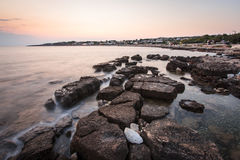 Relaxing landscape in puglia Royalty Free Stock Images