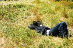 Relaxing man Stock Photos