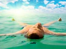 Relaxing man Stock Image