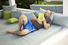 Relaxing man Stock Photography
