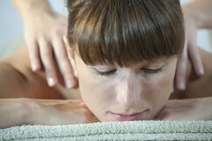 Relaxing massage Royalty Free Stock Photos