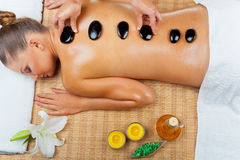 Relaxing massage Royalty Free Stock Photo