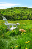 Relaxing On A Summer Chair Royalty Free Stock Photo