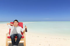 Free Relaxing On Beach Stock Photo - 19686860
