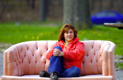 Relaxing Outdoors Stock Image