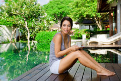 Relaxing Outdoors Royalty Free Stock Photo