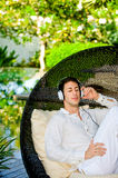 Relaxing Outdoors Royalty Free Stock Photos