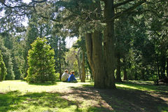Relaxing in the Park Royalty Free Stock Photo