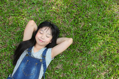 Relaxing in the park. Stock Photo