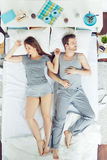 Relaxing people stock photography