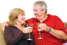 Relaxing Retirement Stock Photography