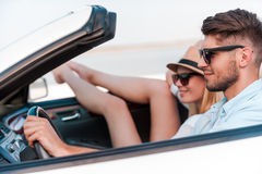 Relaxing during road trip. Stock Photography