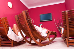 Relaxing room Stock Photo