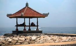 Relaxing at seaside Stock Image