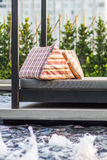 Relaxing seat sofa Stock Photo