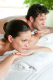 Relaxing at spa Stock Photography