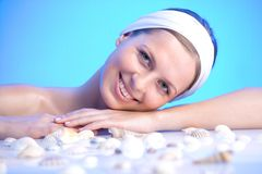Relaxing spa Royalty Free Stock Photo