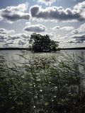 Sigtuna lake in sweden Royalty Free Stock Photography