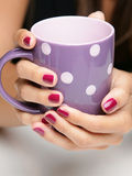 Relaxing with tea Royalty Free Stock Photography