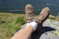 Relaxing time in nature Stock Photo