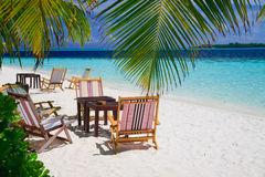 Relaxing on tropical paradise Royalty Free Stock Photo
