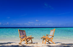 Relaxing on tropical paradise Stock Photos