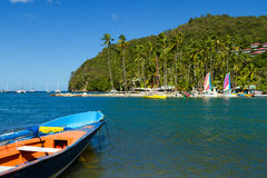 Relaxing Tropical Scenery Stock Image