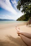 Relaxing in the Tropics Stock Photography