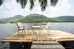 Relaxing in Tropics Stock Image