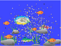 UNDER THE SEA Royalty Free Stock Photo